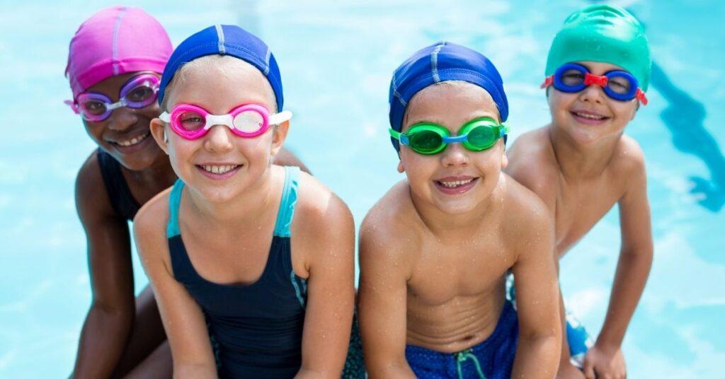 allenarsi in piscina bambini